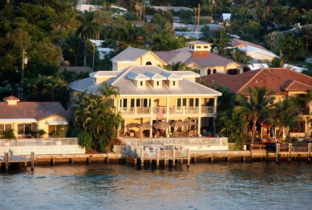 ft lauderdale: Waterfront mansion