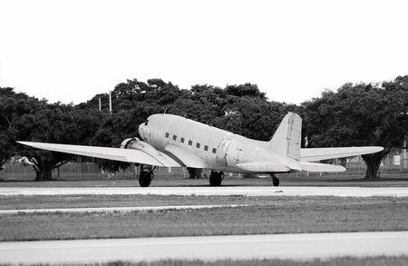 restored: Classic propeller airplane