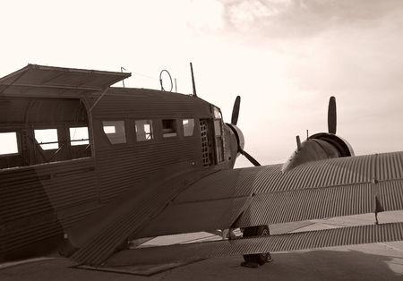 turboprop: World War II era airplane