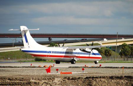 turboprop: Turboprop passenger airplane