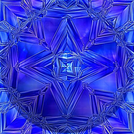 Blauwe saffier  Stockfoto