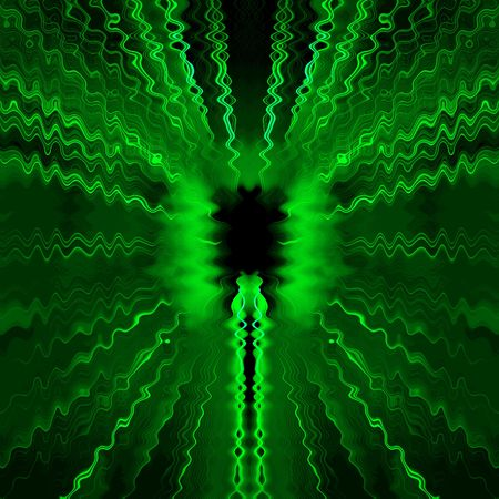 transmit: Abstract green background