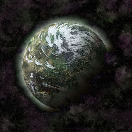 celestial body: Distant planet