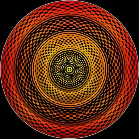 hypnotique: Hypnotic roue Banque d'images