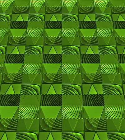 foil: Green foil