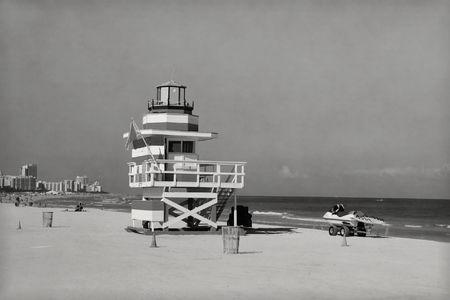 Retro Miami Beach photo