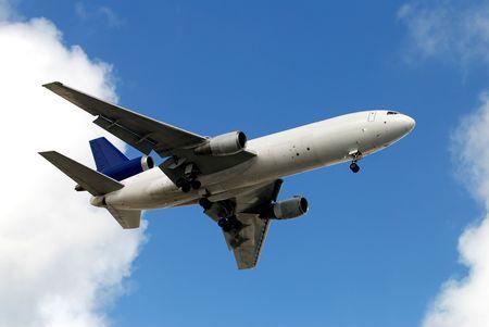 Heavy cargo jet photo