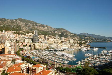 monte: Scenic view of Monte Carlo Stock Photo