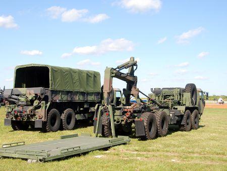 Military machinery photo