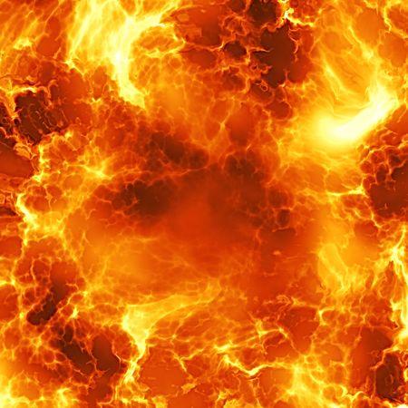 detonation: Fireball explosion