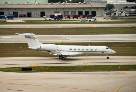 Corporate jet Stock Photo - 2742920