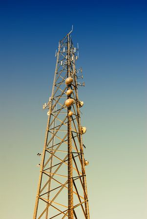 Telecom antenna Stock Photo - 2845168