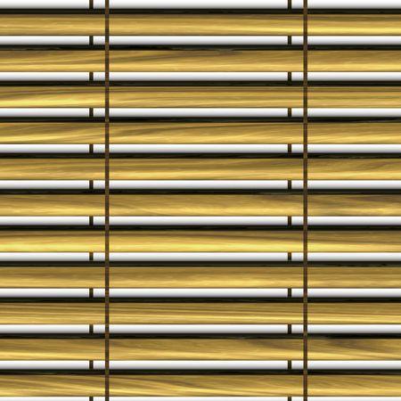 window shades: Isolated window shades on white background