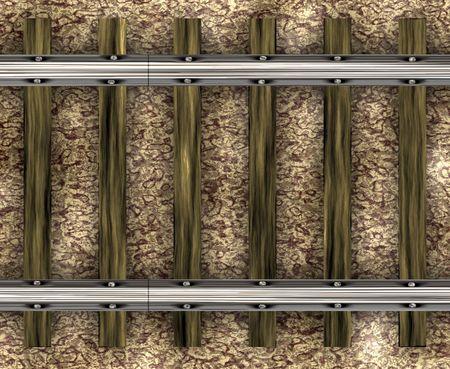 Trein tracks en spoor van boven gezien