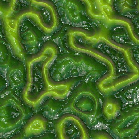 Groene hagedis gekleurde huid Stockfoto - 3018057