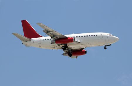 jetliner: Old jetliner in flight