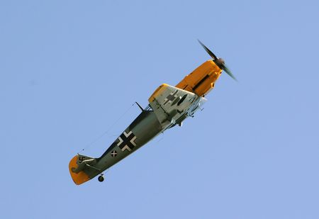 legendary: Legendary fighter airplane Me-109 used by Germany in World War II