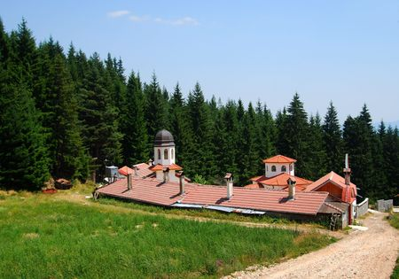 Mountain monastery in Southern Bulgaria
