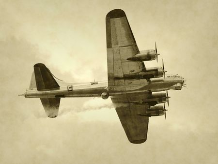 World War II era American bomber