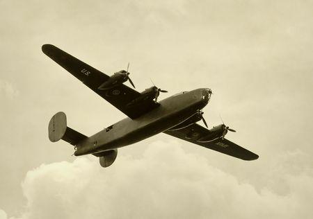 the liberator: II Guerra Mondiale era bombardiere americano  Archivio Fotografico