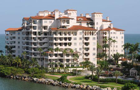 Teuer Waterfront Eigentumswohnungen in Florida  Standard-Bild - 3711550