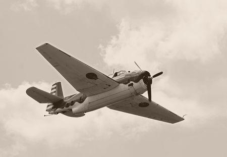 World War II era American Avenger fighter photo