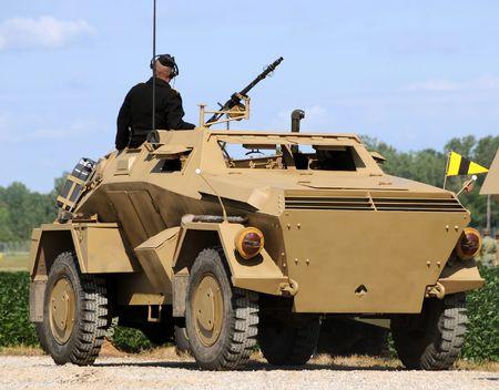 armored: World War II era obsolete armored vehicle