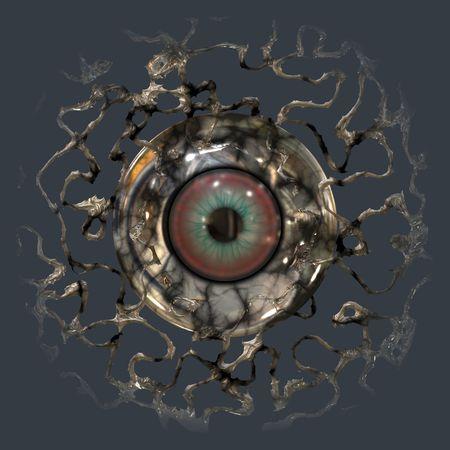eye ball: Equipo prestados los ojos detr�s de la pelota web