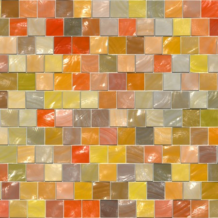 Background from polished square ceramic tiles