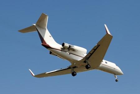Modern charter jet for business travel Stock Photo - 4075543