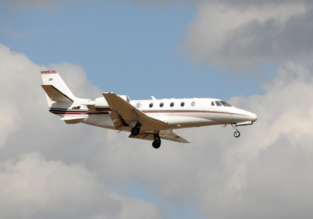 Light private jet for business travel Stock Photo - 4424758