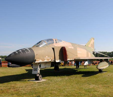 cold war: Cold War era US AIr Force jet now a monument