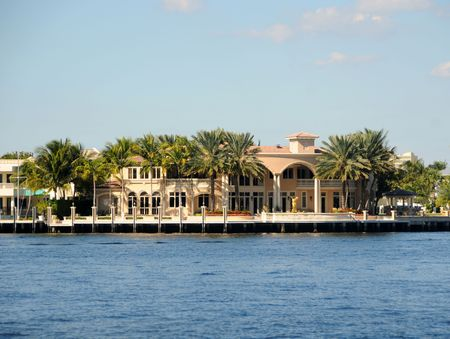 expensive: Exclusive waterfront real estate in Florida