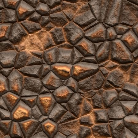 Surface texture of volcanic brown rock