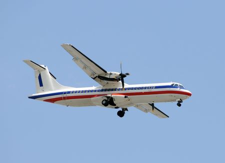 turboprop: Turboprop airplane for regional passenger travel