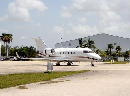 Avion de luxe jet pour charters priv�s et professionnels Banque d'images - 5283459