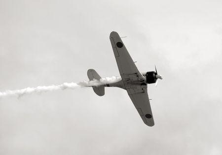 제 2 차 세계 대전 시대 프로펠러 비행기
