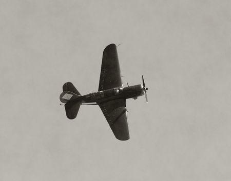 World War II era flighter airplane photo
