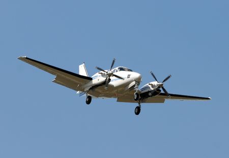 turboprop: Turboprop airplane for short distance travel