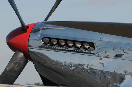 nose: Legendary US fighter plane from World War II