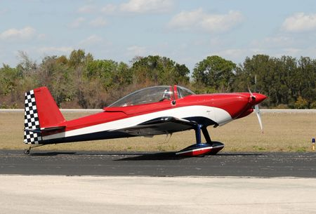 aerobatic: Light sports airplane used for aerobatic flying Stock Photo