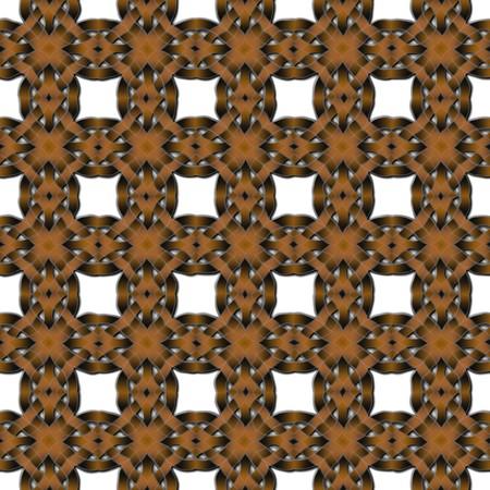 Geweven leer patroon geïsoleerd op witte achtergrond