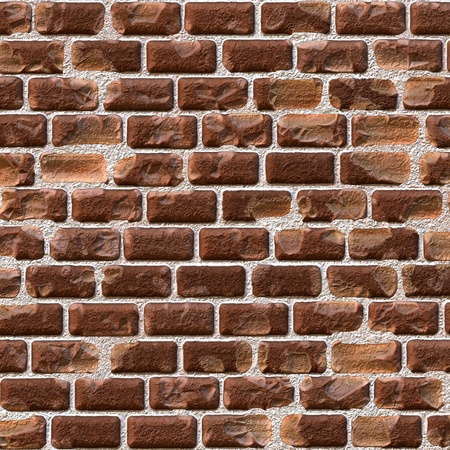 Old brick wall closeup view for background