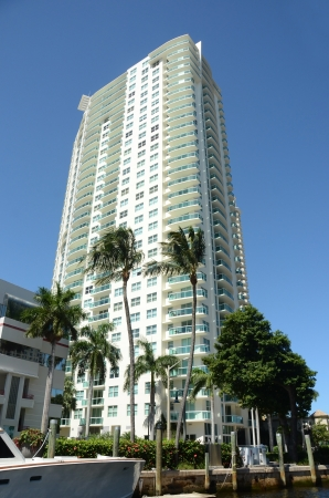 fort lauderdale: Luxury apartments in exclusive waterfront of Fort Lauderdale, Florida Editorial