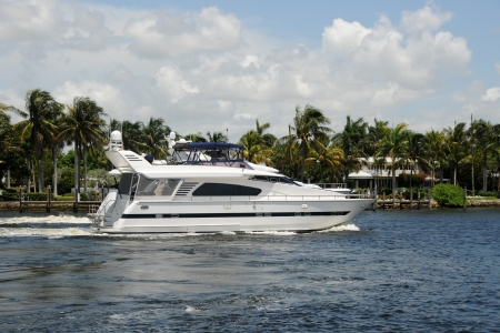 luxuries: Luxury yacht cruises down the waterways of Fort Lauderdale, Florida