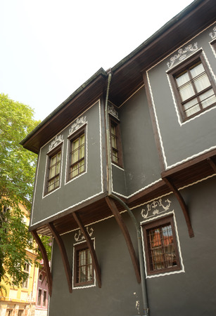 19th: Traditional 19th century home in Plovdiv, Bulgaria