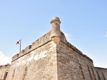 marcos: Castillo de San Marcos, landmark in St Augustine, FL, the oldest city in the USA