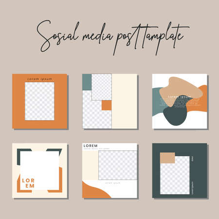 Social media post templates to beautify your posts on social media