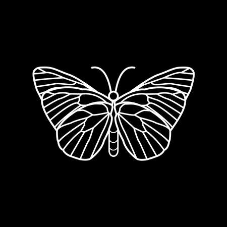 butterfly vector, can be used as a logo or t-shirt design or clothing