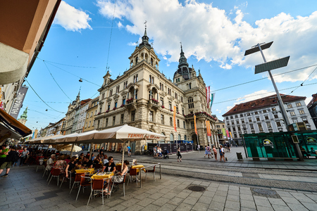 Rathaus Graz City hall Steiermark Austria